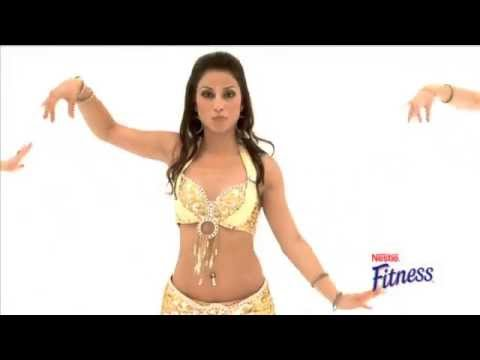 NESTLE BellyBolly fusion 'FLAT BELLY WORKOUT' Fitness DVD