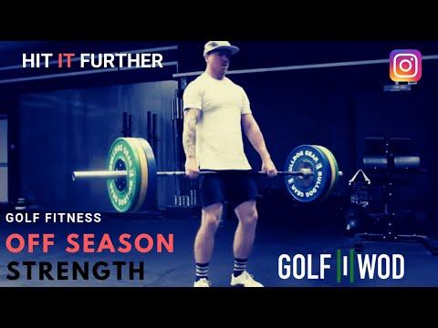 Strength Training for Golf Fitness Off Season Prep