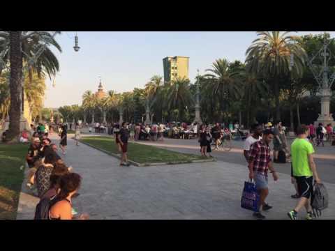 Триумфальная арка Испания Барселона