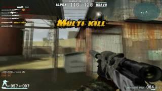 poooonstik's combat arms montage ep.8- 4th sniper montage