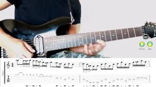 Guitar Lick #23 - Fusion (C min + F Dorian)