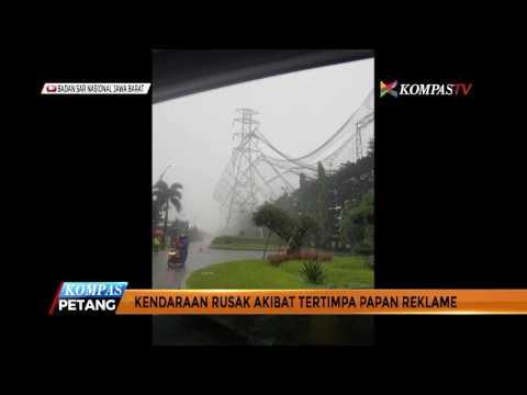 Bandung Diguyur Hujan Badai