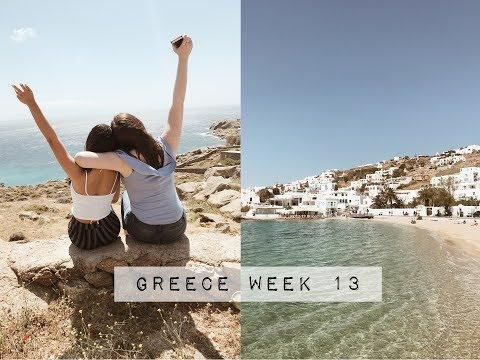 STUDY ABROAD IN LONDON: GIRLS TRIP TO GREECE