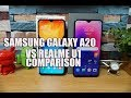 Samsung Galaxy A20 vs Realme U1 Comparison- Which is better device to buy