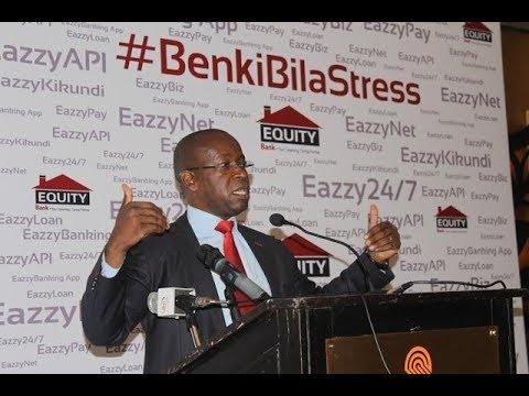 Uzinduzi wa EazzyBanking App Kutoka Equity Bank, Serena Hotel Feb 19, 2018