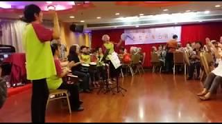 禧福協會耆年事工 - 深水埗區使團命福音聚會打鼓