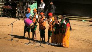 Folk song presented by the Mech Kachari tribe