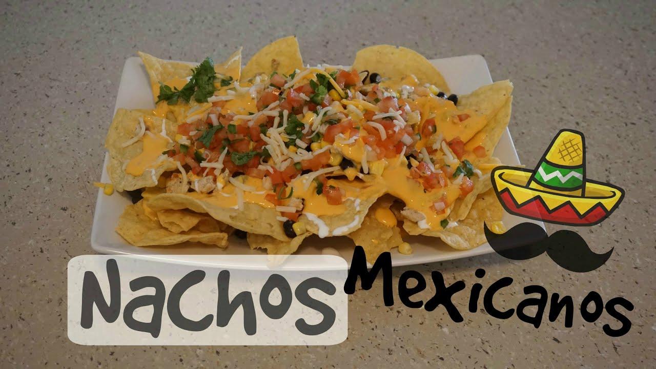 Nachos Mexicanos fáciles y rapidos - YouTube