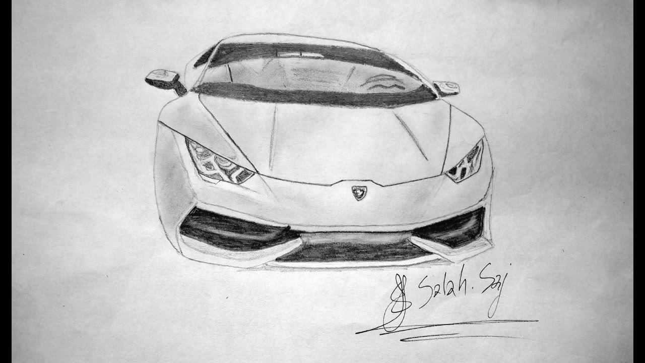 the best lamborghini huracan drawing youtube. Black Bedroom Furniture Sets. Home Design Ideas