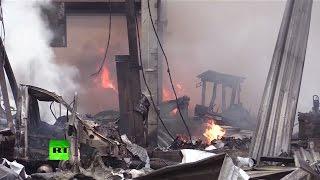 На АЗС на западе Москвы произошел взрыв и пожар(, 2015-05-22T18:44:13.000Z)