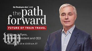 Amtrak CEO William J. Flynn on coronavirus and the future of train travel (Full Stream 6/29)