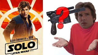 NOWE PLAKATY Han Solo Movie - Hmm, czy czegoś tutaj brakuje?