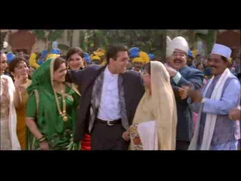 Salman, Saif, Monish Behl, Karishma & Tabu in Chinni Chinni Thammullaku from Premaanuraagam