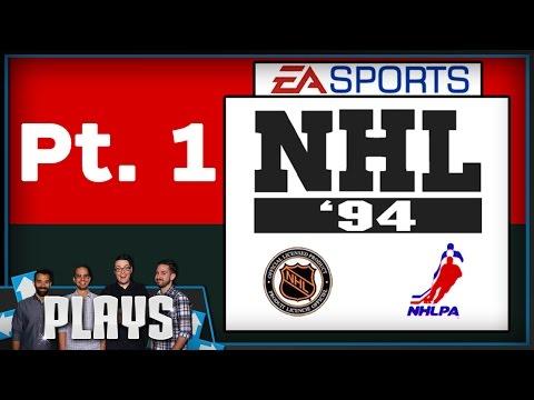 NHL '94 Part 1 - Colin's College Friends Tournament