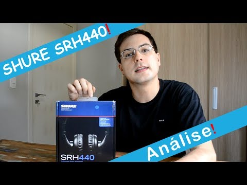 Análise - Shure SRH440 - Headphones