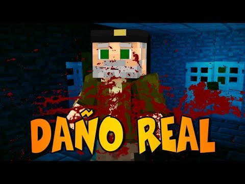 DAÑO REAL!! | REALISTIC PAIN MOD | Minecraft Mod Review