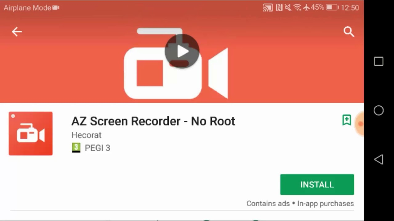 az screen recorder pro apk root