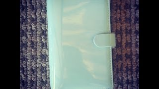 Duck Egg Blue Personal FiloFax Unboxing