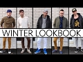 MEN'S WINTER  STREET STYLE LOOKBOOK 2017 | MIX & MATCH OUTFIT IDEAS | Cheap Tip #253