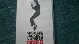 Unboxing Michael Jackson's Number Ones DVD