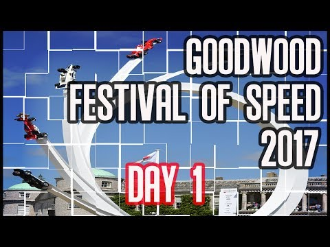 GOODWOOD FESTIVAL OF SPEED 2017 DAY 1 - THE SOUNDS AND SIGHTS