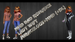bad romance lady wify mmd miraculos dl