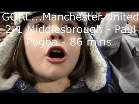 Manchester United v Middlesbrough - Premier League - Old Trafford - 31.12.2016