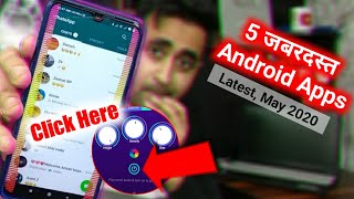 Top 5 Amazing Android Apps Latest May 2020 Hindi | Best Android Apps Of The Month | EFA