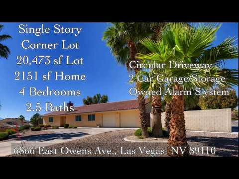 6866 E. Owens Ave., Las Vegas, NV 89110 - Move In Ready.
