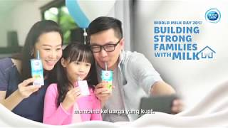 Dutch lady World Milk Day - Building strong families with the goodness of milk