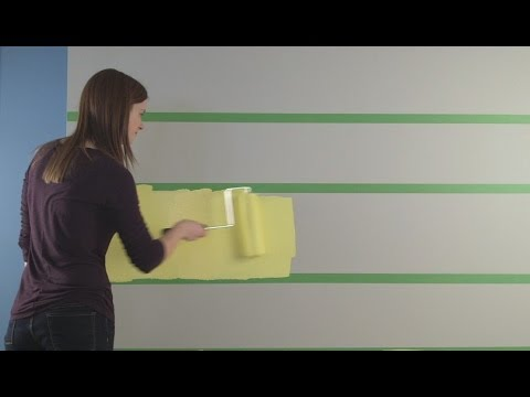 how to paint stripes on your walls sherwin williams youtube. Black Bedroom Furniture Sets. Home Design Ideas