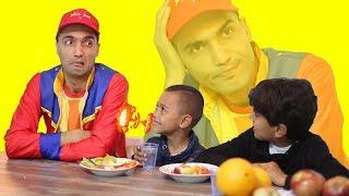 عمو صابر احترام الطعام - amo saber respect the food