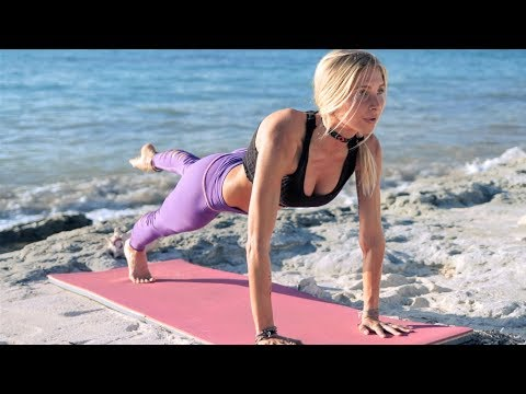 Cardio Yoga Workout For Weight Loss ♥ The Sweat Is Just Your Fat Crying