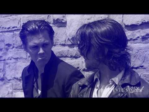 "» Hemlock Grove | ""Tell me, what you need."" — ""Peter."" (Roman Godfrey & Peter Rumancek)"
