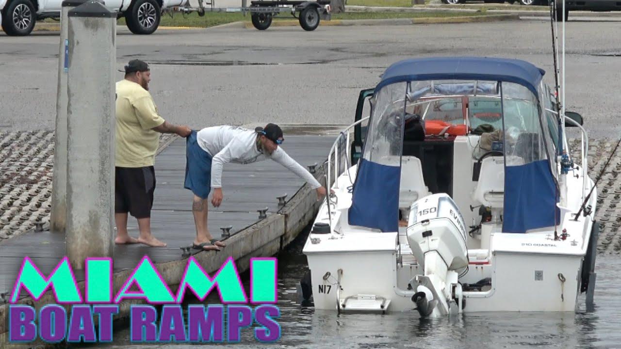 Assistance at the Dock ft Darcizzle!   Miami Boat Ramps   Boynton Beach
