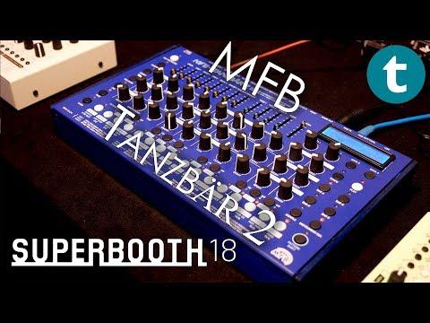 Superbooth 2018   MFB Tanzbär 2   Quick overview