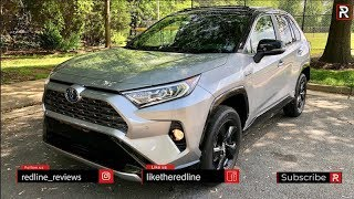 2019 Toyota RAV4 Hybrid – The Most Gas Efficient SUV in America