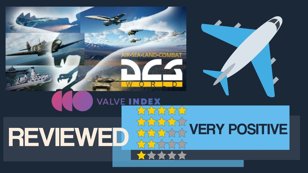 DCS World Steam Edition - #SteamVR Game - REVIEWED - Free To Play VR - Joystick Recommended