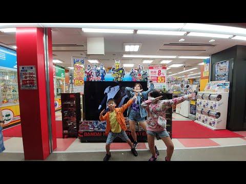 買了9XXX!! 五層樓玩具店很好逛|大阪必逛KIDS LAND總店
