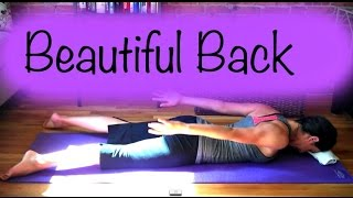 How To Get A Beautiful Back