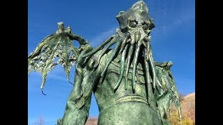 Cthulhu Costume - Homemade Latex Suit thumbnail