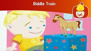 Riddle Train 4, for kids - Fun educational animation