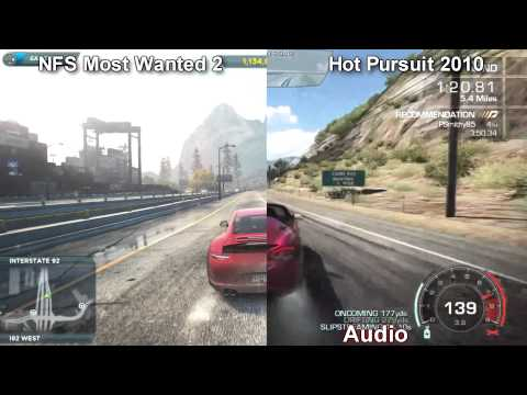 NFS: Most Wanted 2012 vs Hot Pursuit 2010