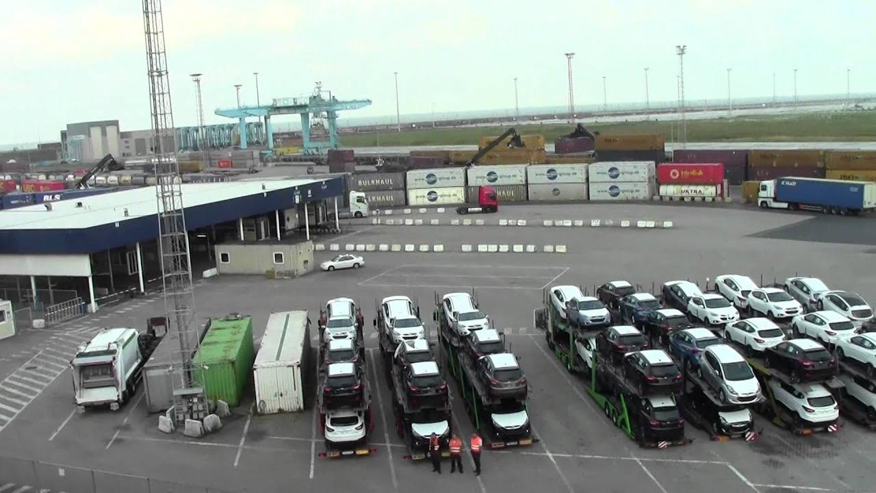 Arriving at zeebrugge ferry port youtube - Where is zeebrugge ferry port ...