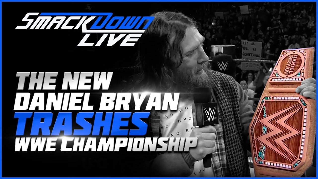 WWE Smackdown Live Jan. 29, 2018 Full Show Review & Results: DANIEL BRYAN UNVEILS NEW WWE TITLE!