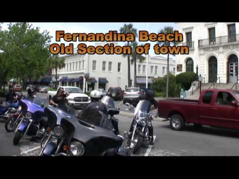 Fernandina Beach Motorcycle Trip 2010