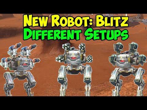 New Power Robot Blitz Gameplay - War Robots Test Server WR