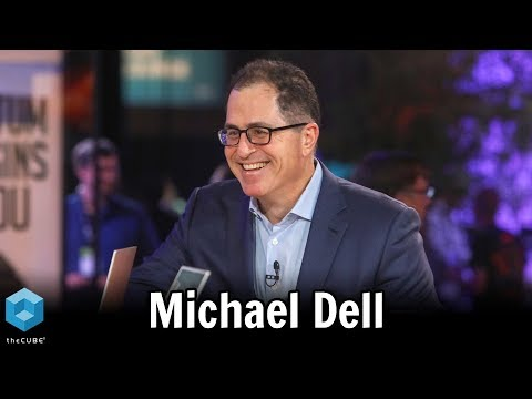 Michael Dell, Dell Technologies | VMworld 2018