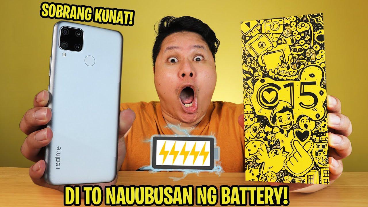 Download realme C15 - DI TO NAUUBUSAN NG BATTERY!