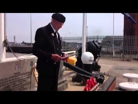 Memorial Service to remember Royal Naval Patrol Service.